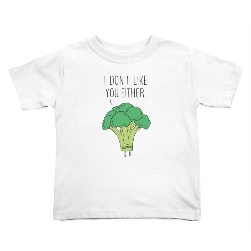Broccoli don't like you either   by ilovedoodle's Artist Shop