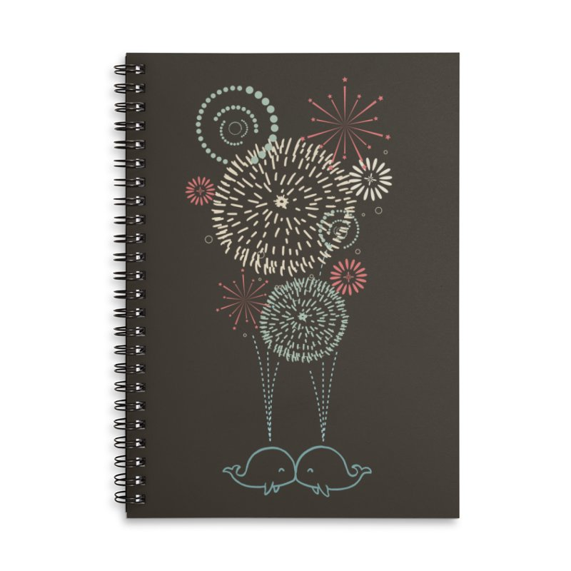 First Kiss in Lined Spiral Notebook by ilovedoodle's Artist Shop
