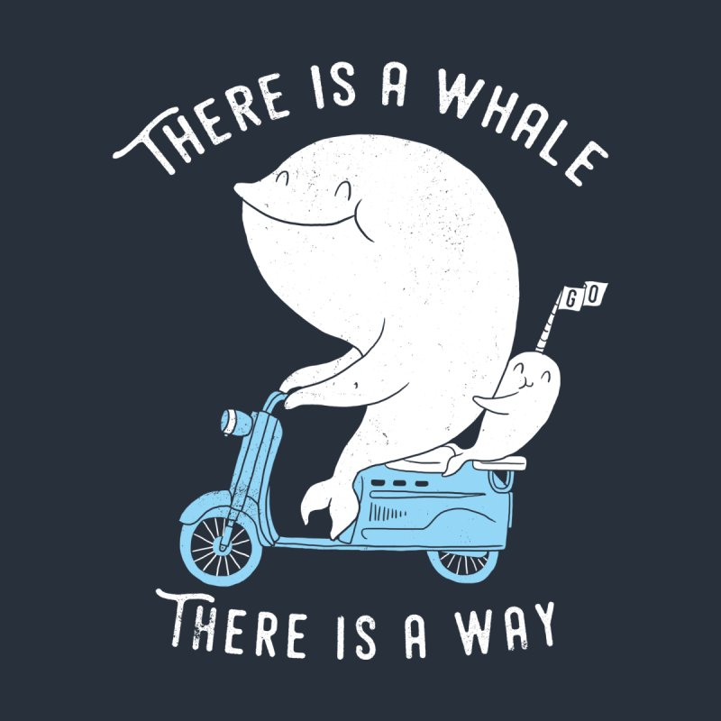 There is a whale None  by ilovedoodle's Artist Shop