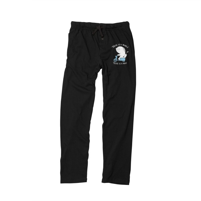 There is a whale Men's Lounge Pants by ilovedoodle's Artist Shop