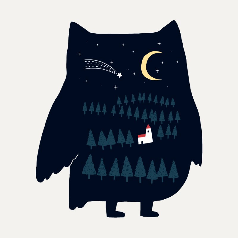 Night Owl None  by ilovedoodle's Artist Shop