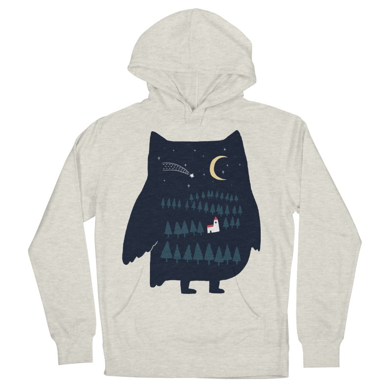 Night Owl Men's Pullover Hoody by ilovedoodle's Artist Shop