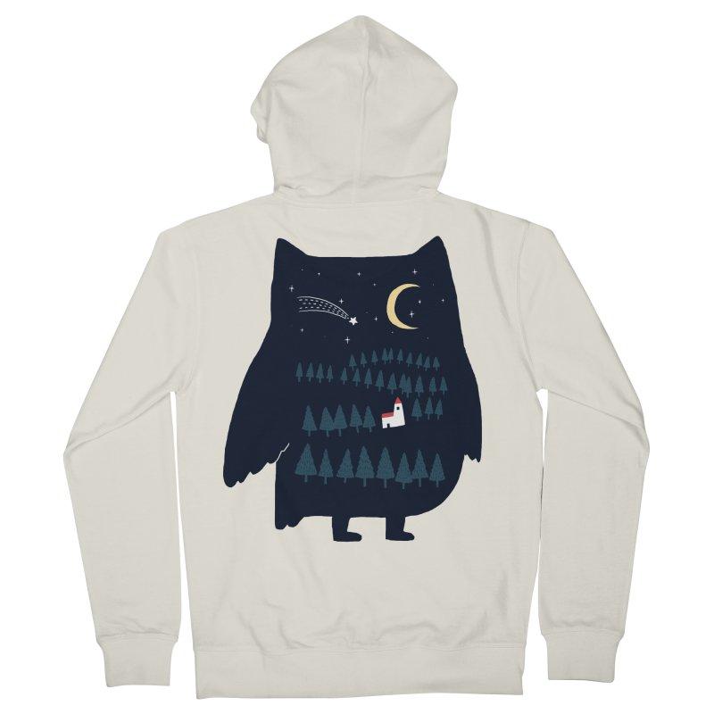 Night Owl Women's Zip-Up Hoody by ilovedoodle's Artist Shop