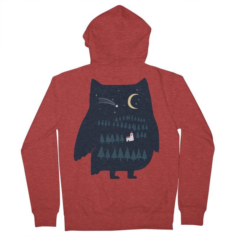 Night Owl Men's Zip-Up Hoody by ilovedoodle's Artist Shop