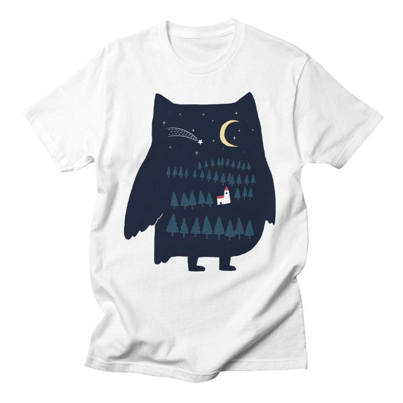 Night Owl Men's T-shirt by ilovedoodle's Artist Shop