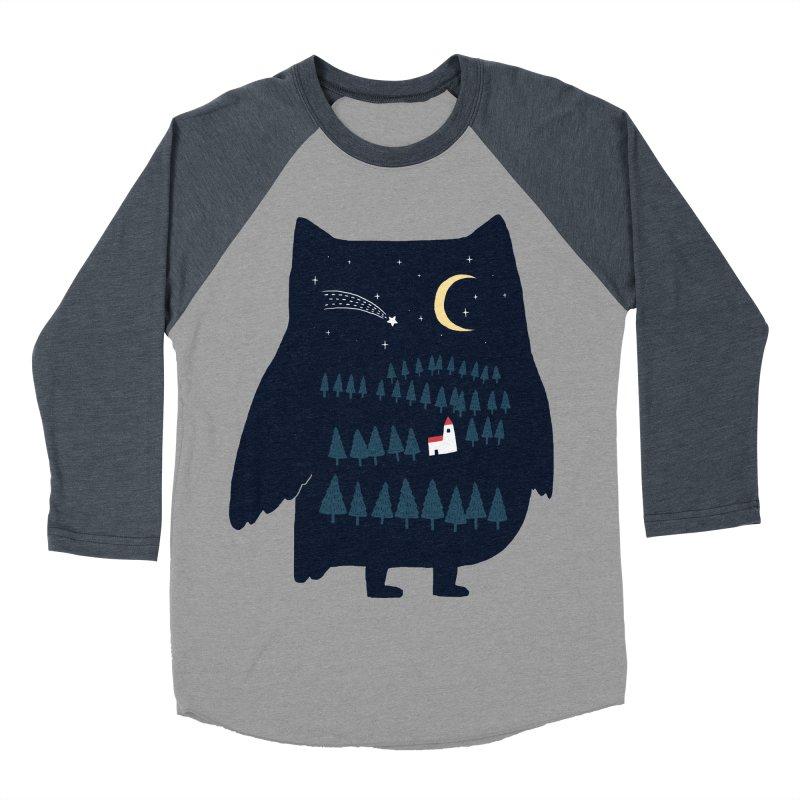 Night Owl Women's Baseball Triblend T-Shirt by ilovedoodle's Artist Shop