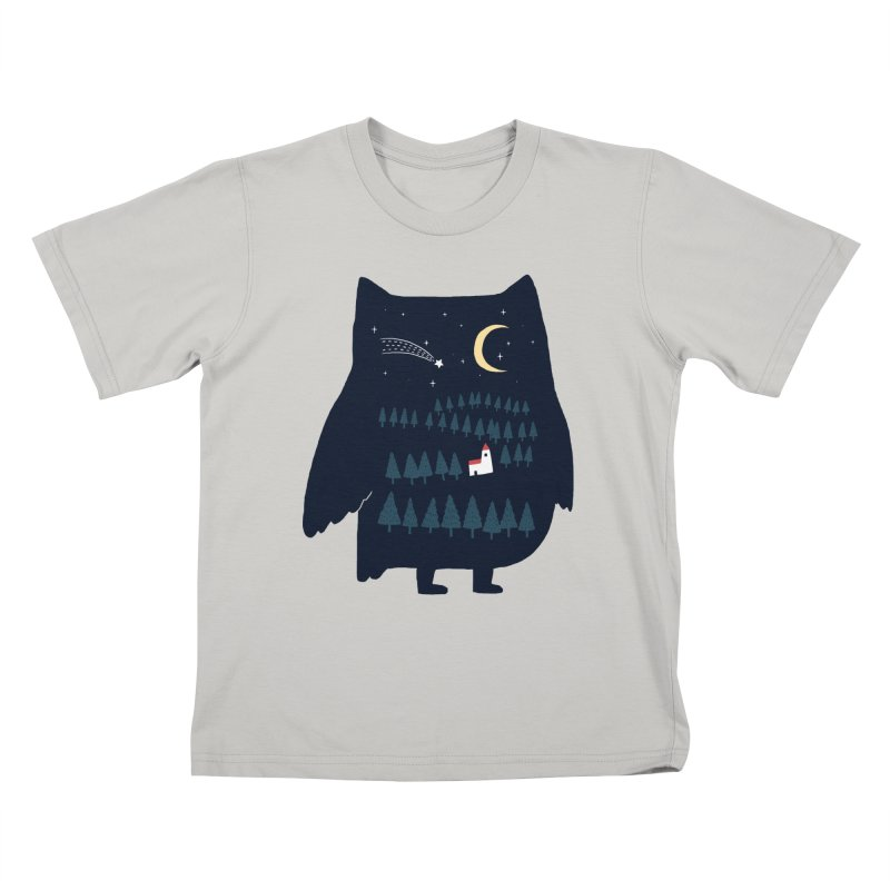 Night Owl Kids T-shirt by ilovedoodle's Artist Shop