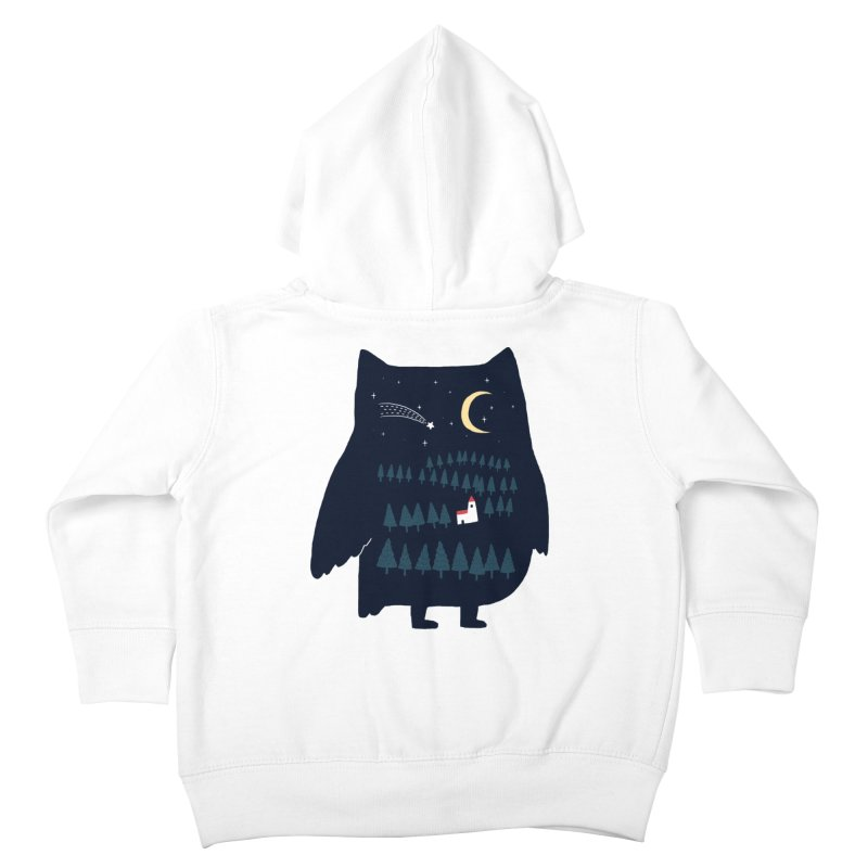 Night Owl Kids Toddler Zip-Up Hoody by ilovedoodle's Artist Shop
