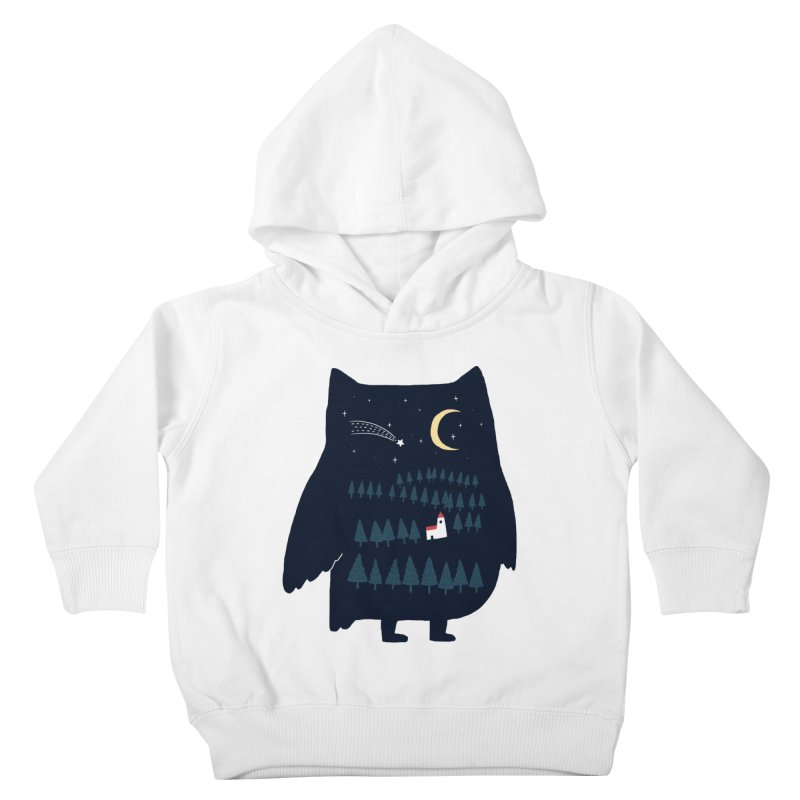 Night Owl Kids Toddler Pullover Hoody by ilovedoodle's Artist Shop