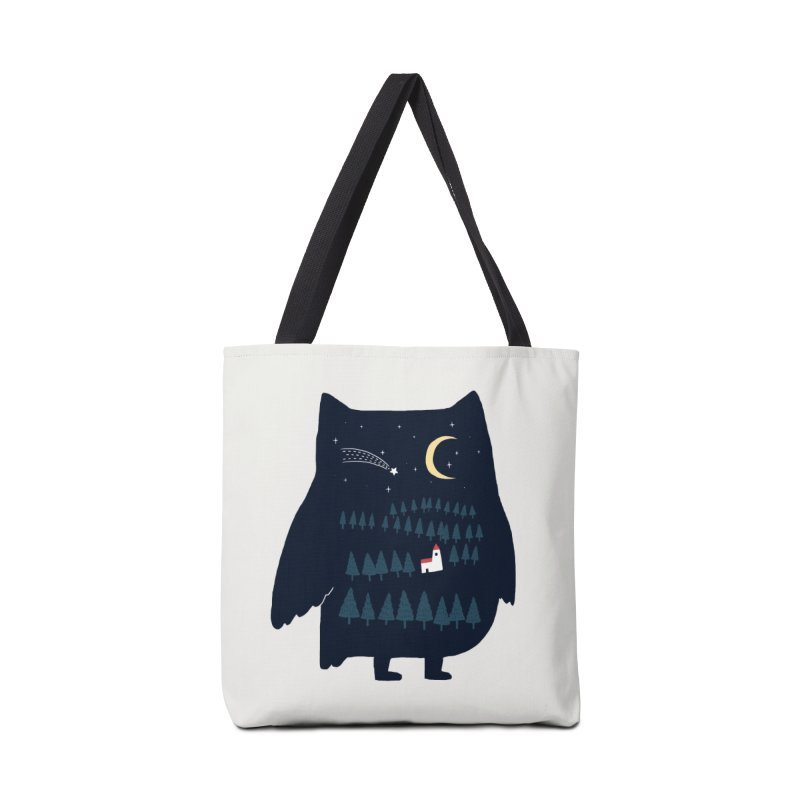 Night Owl Accessories Bag by ilovedoodle's Artist Shop