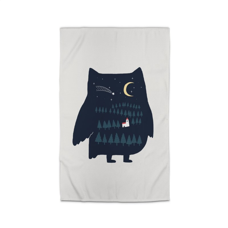 Night Owl Home Rug by ilovedoodle's Artist Shop