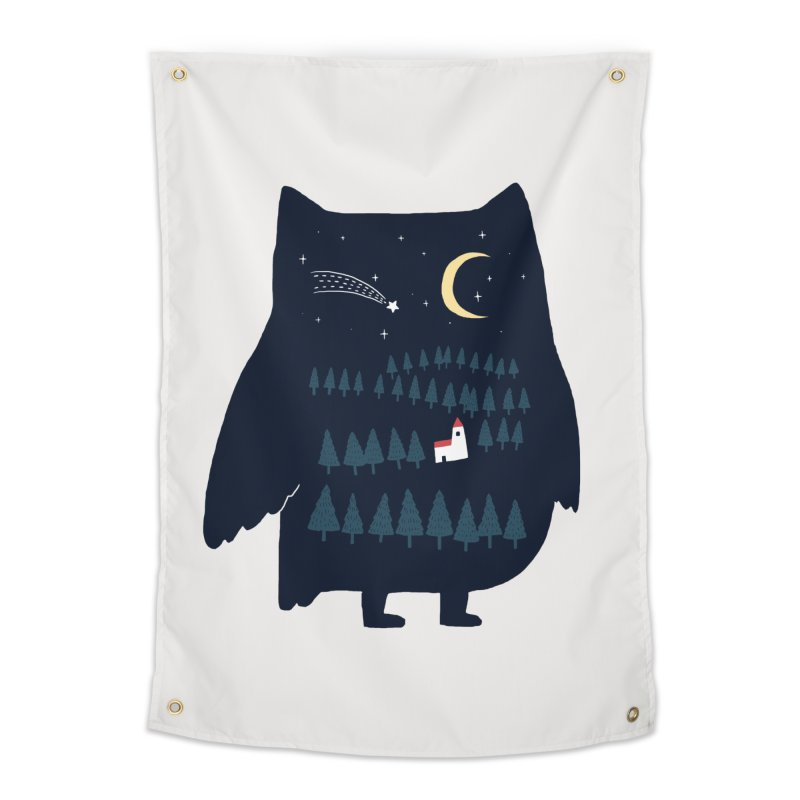 Night Owl Home Tapestry by ilovedoodle's Artist Shop