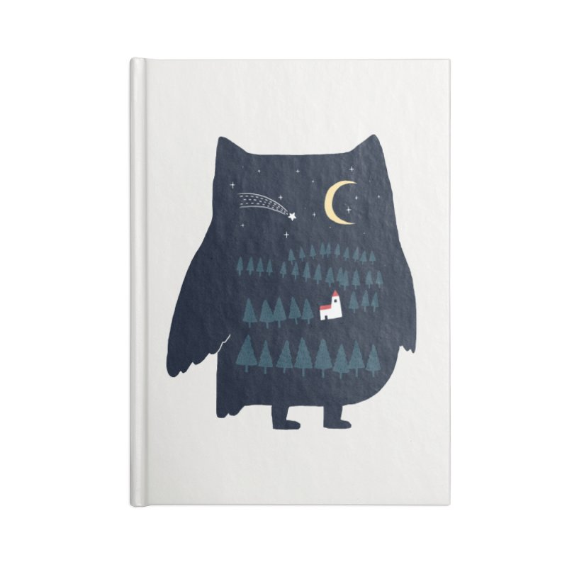 Night Owl Accessories Notebook by ilovedoodle's Artist Shop