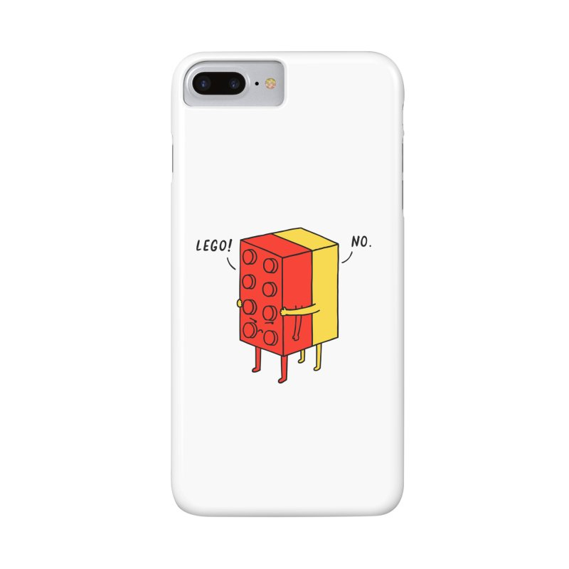 Lego! No Accessories Phone Case by ilovedoodle's Artist Shop
