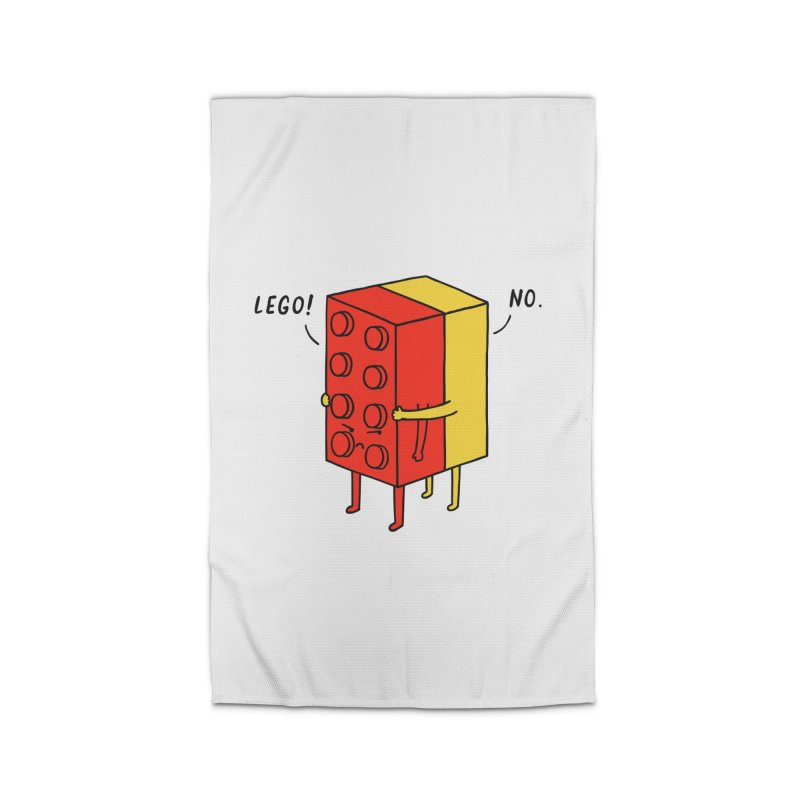 Lego! No Home Rug by ilovedoodle's Artist Shop