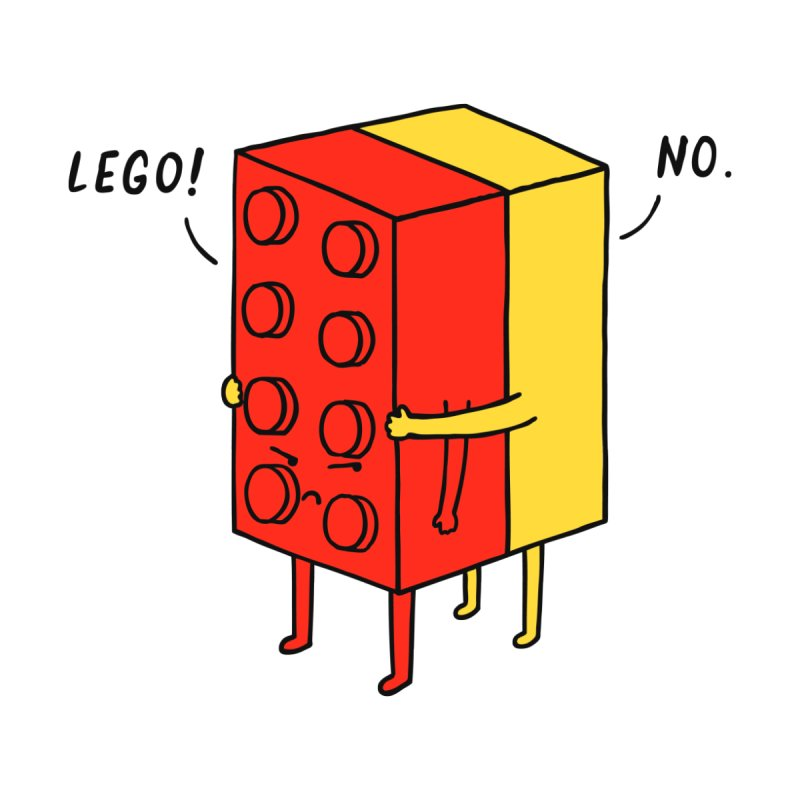 Lego! No None  by ilovedoodle's Artist Shop