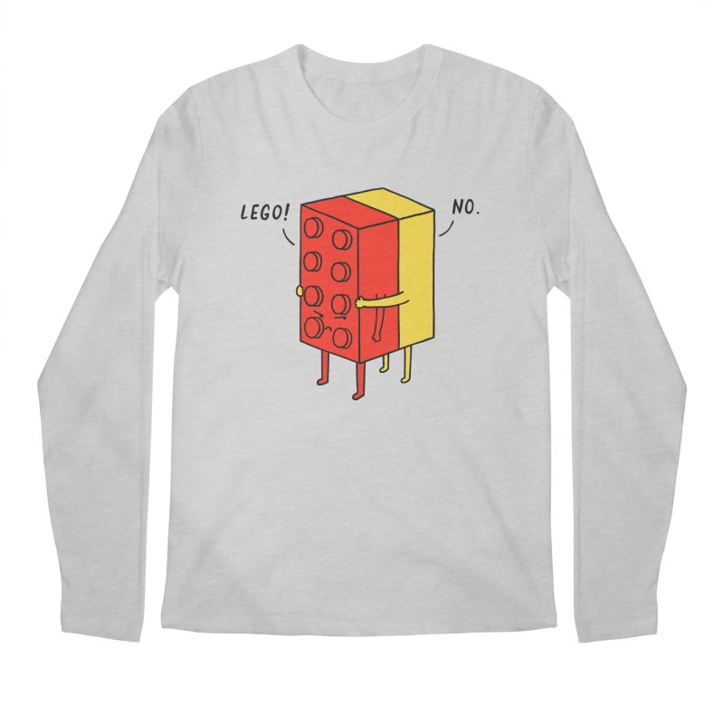 Lego! No Men's Longsleeve T-Shirt by ilovedoodle's Artist Shop