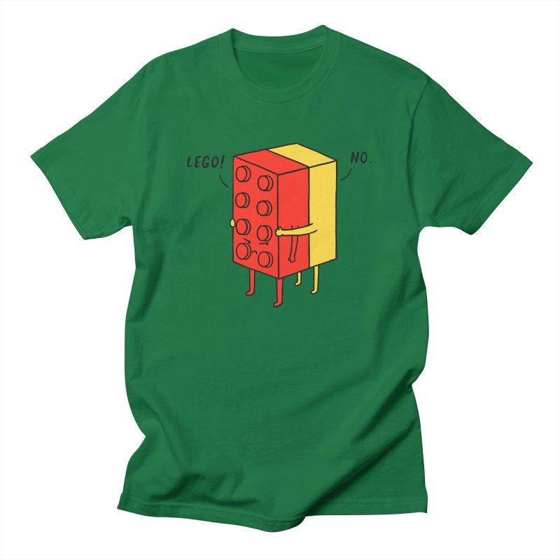 Lego! No Men's T-shirt by ilovedoodle's Artist Shop