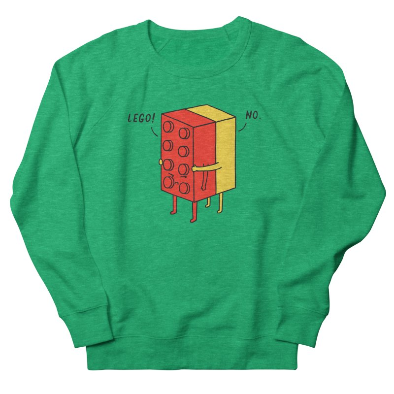 Lego! No Men's Sweatshirt by ilovedoodle's Artist Shop