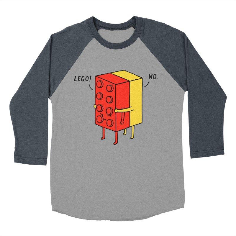 Lego! No Men's Baseball Triblend T-Shirt by ilovedoodle's Artist Shop