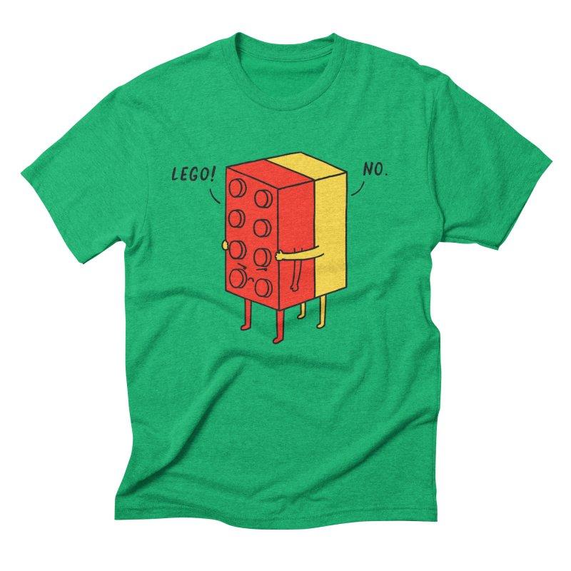Lego! No Men's Triblend T-shirt by ilovedoodle's Artist Shop