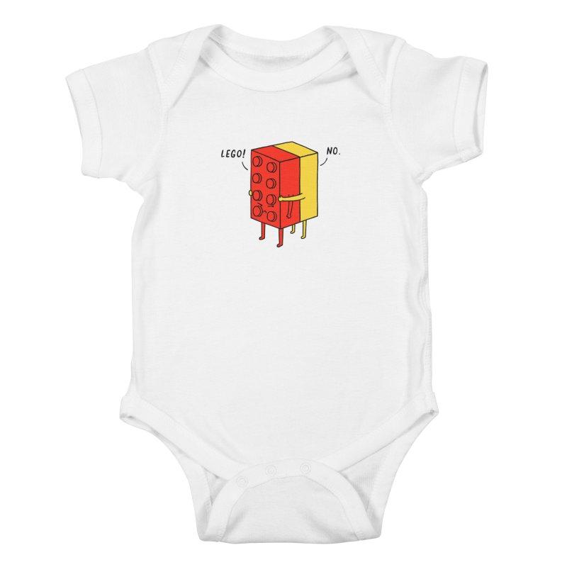 Lego! No Kids Baby Bodysuit by ilovedoodle's Artist Shop