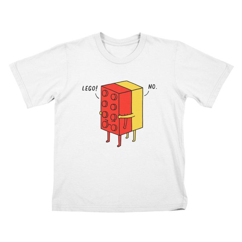 Lego! No Kids T-Shirt by ilovedoodle's Artist Shop