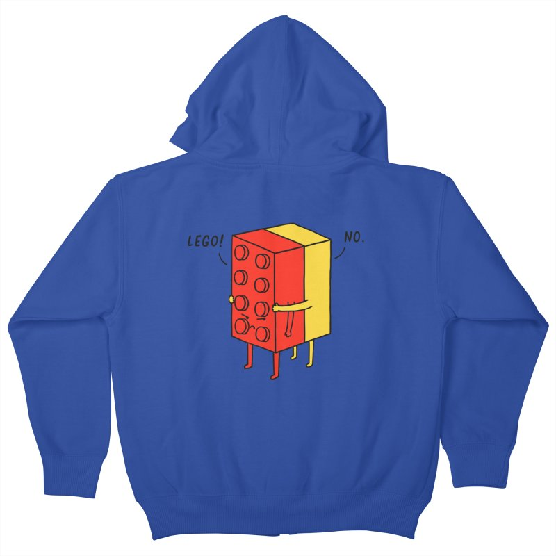 Lego! No Kids Zip-Up Hoody by ilovedoodle's Artist Shop