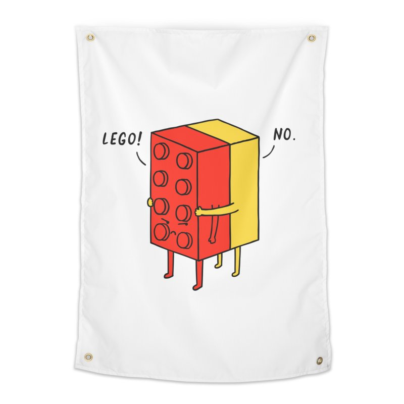 Lego! No Home Tapestry by ilovedoodle's Artist Shop