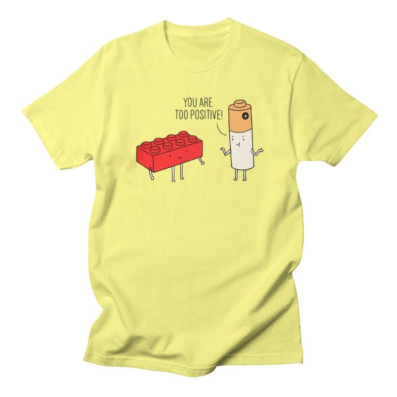 Positive Lego Women's Unisex T-Shirt by ilovedoodle's Artist Shop