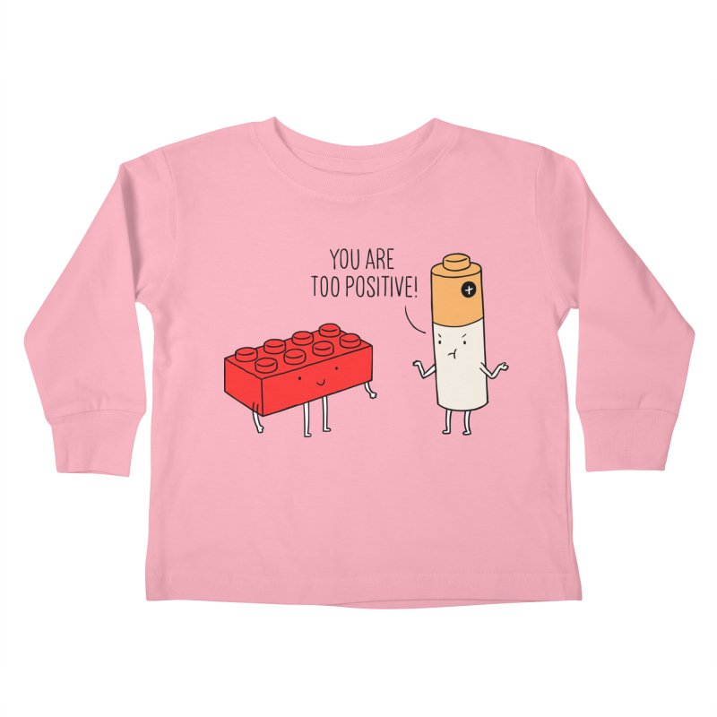 Positive Lego Kids Toddler Longsleeve T-Shirt by ilovedoodle's Artist Shop