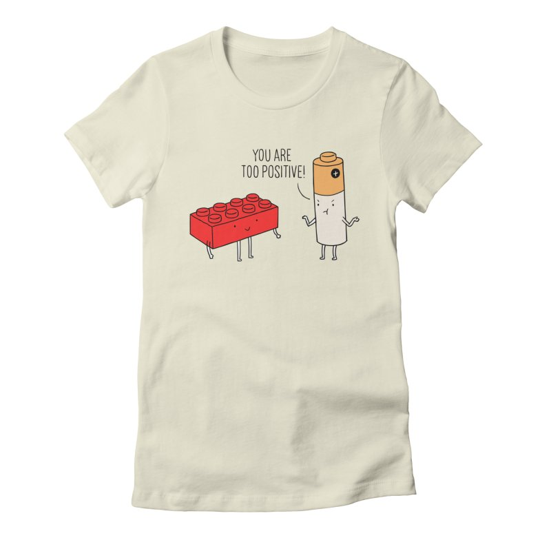 Positive Lego Women's Fitted T-Shirt by ilovedoodle's Artist Shop