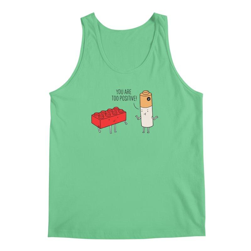 Positive Lego Men's Tank by ilovedoodle's Artist Shop