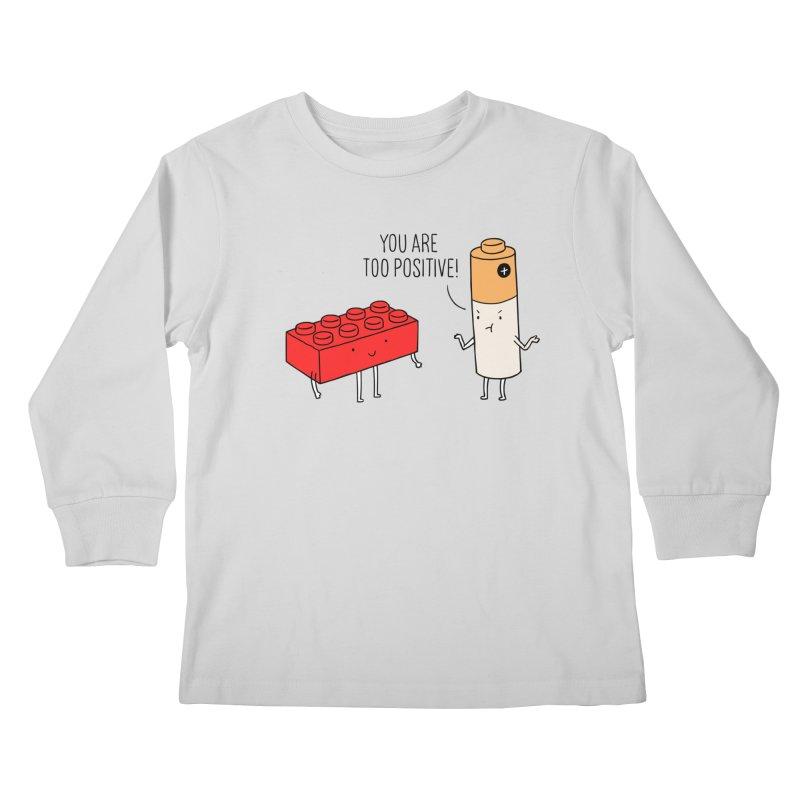 Positive Lego Kids Longsleeve T-Shirt by ilovedoodle's Artist Shop