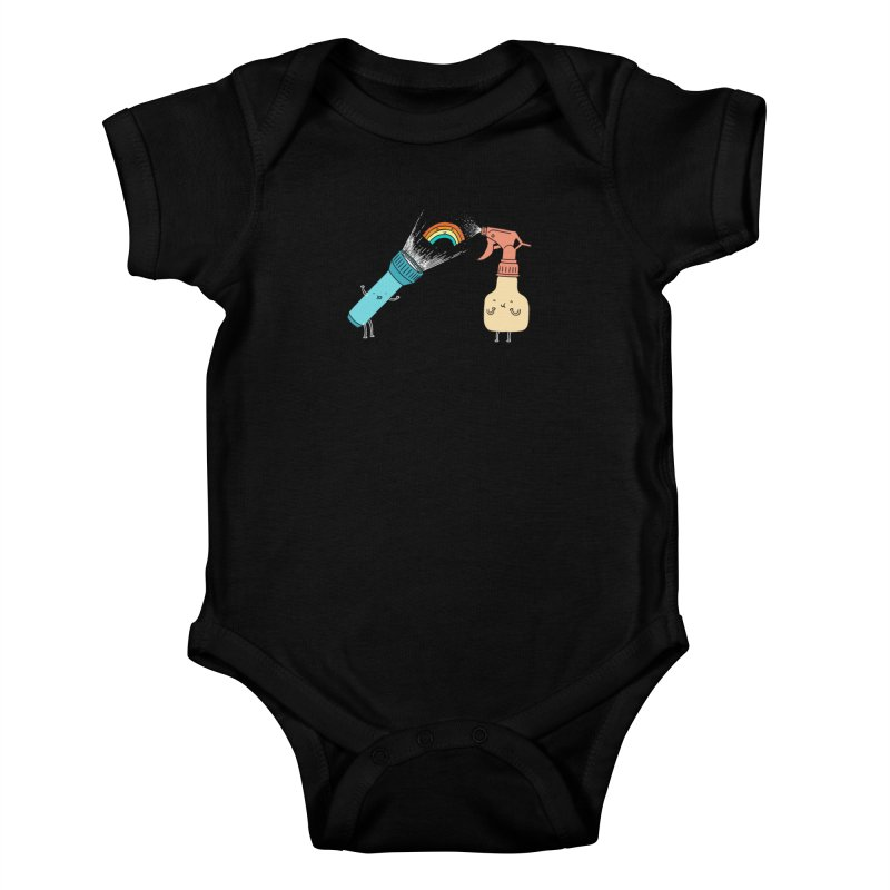 Together we make rainbow Kids Baby Bodysuit by ilovedoodle's Artist Shop