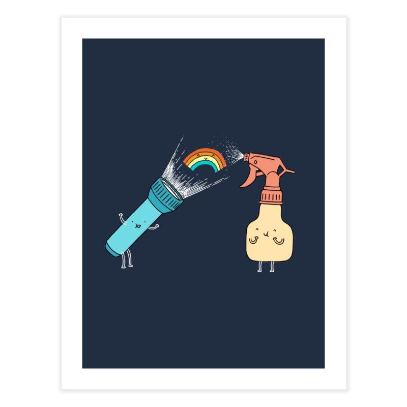 Together we make rainbow Home Fine Art Print by ilovedoodle's Artist Shop