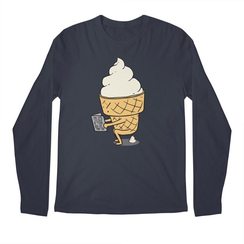 Everyone Poops Men's Longsleeve T-Shirt by ilovedoodle's Artist Shop