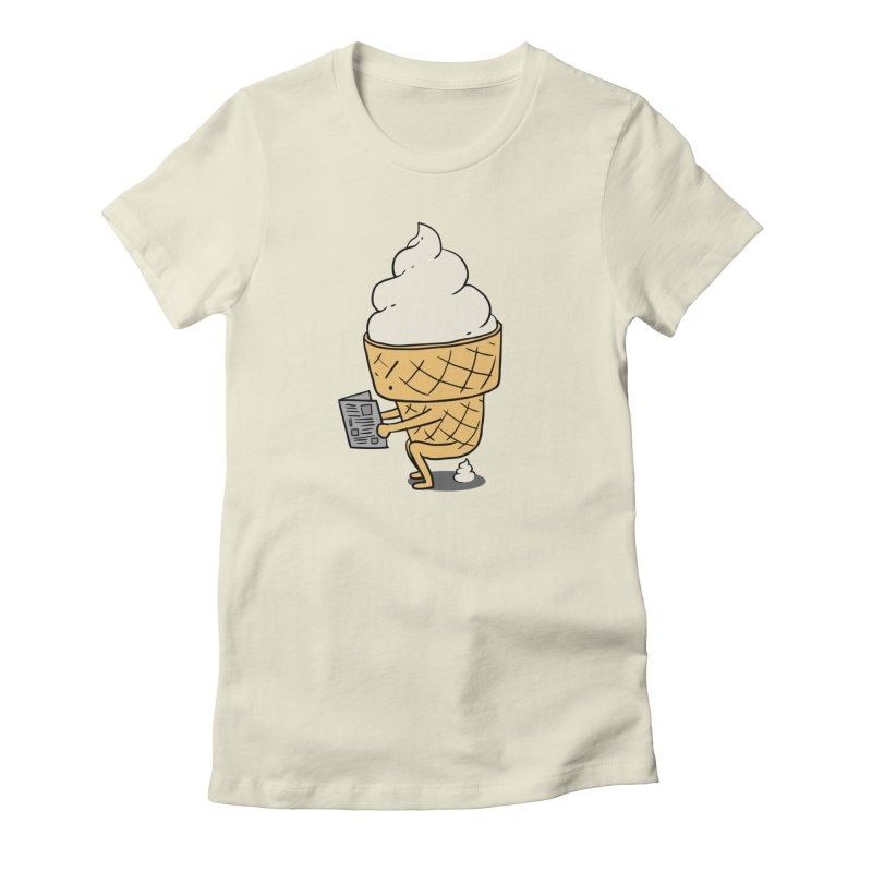 Everyone Poops Women's T-Shirt by ilovedoodle's Artist Shop