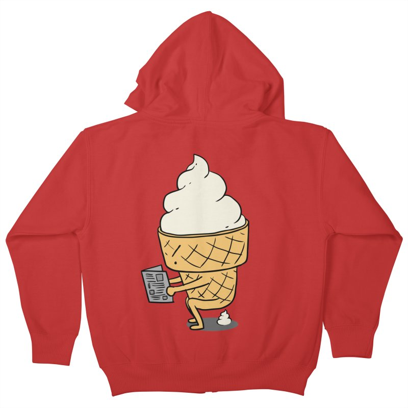 Everyone Poops Kids Zip-Up Hoody by ilovedoodle's Artist Shop