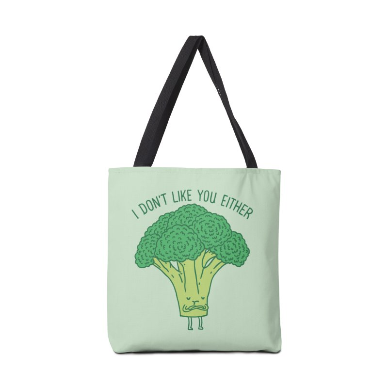 Broccoli don't like you either Accessories Bag by ilovedoodle's Artist Shop