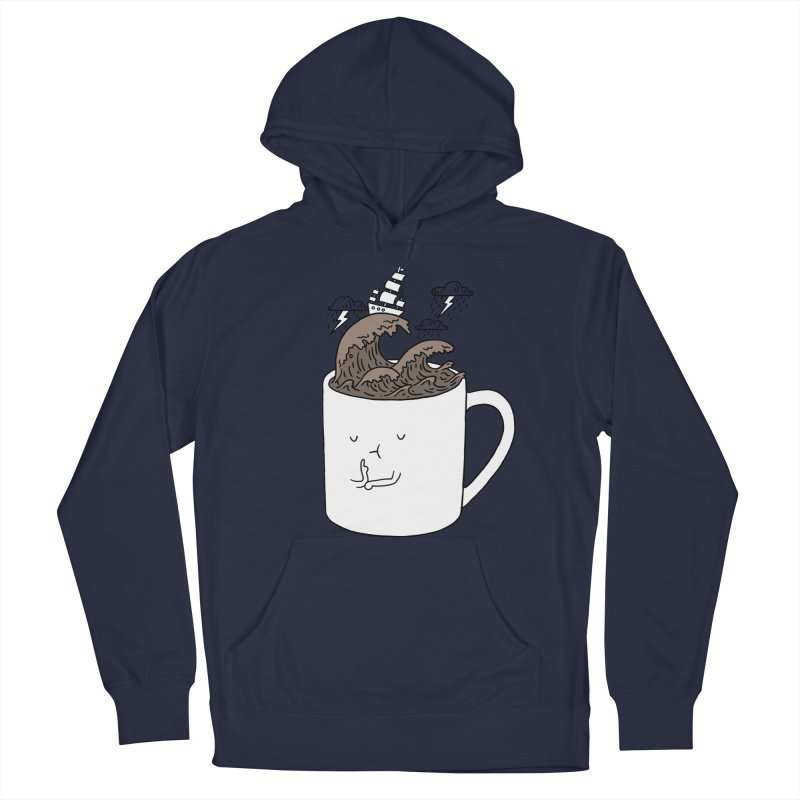 Brainstorming Coffee Mug Women's Pullover Hoody by ilovedoodle's Artist Shop