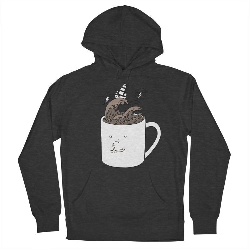 Brainstorming Coffee Mug Men's Pullover Hoody by ilovedoodle's Artist Shop