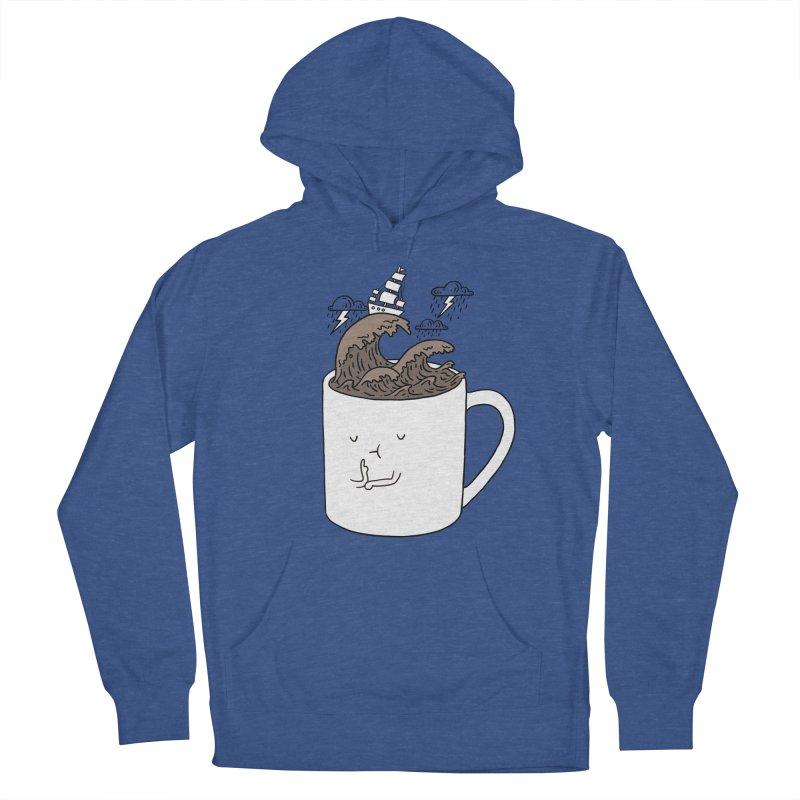 Brainstorming Coffee Mug Men's Pullover Hoody by ilovedoodle's Artist Shop