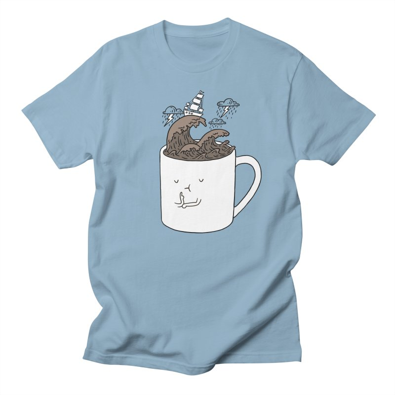 Brainstorming Coffee Mug Men's T-shirt by ilovedoodle's Artist Shop