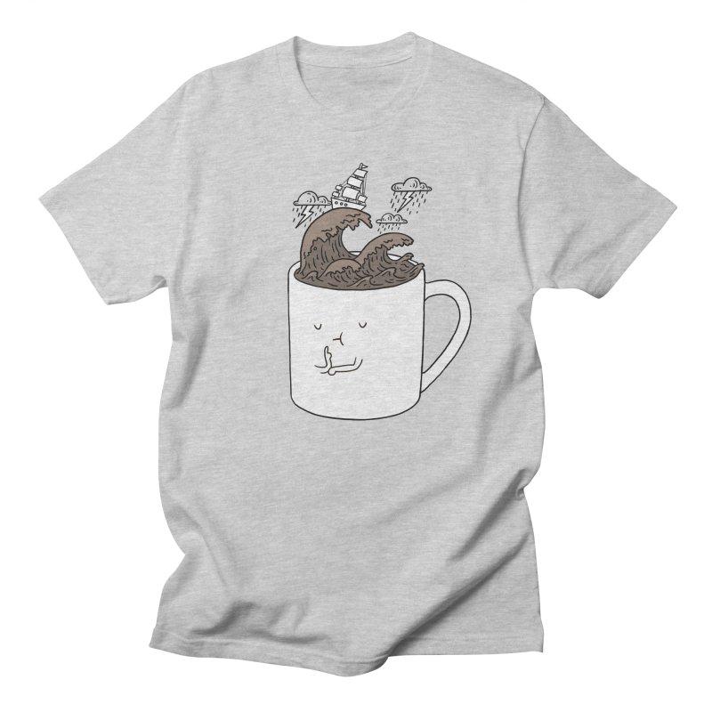 Brainstorming Coffee Mug Men's T-shirt by ilovedoodle's Artist Shop