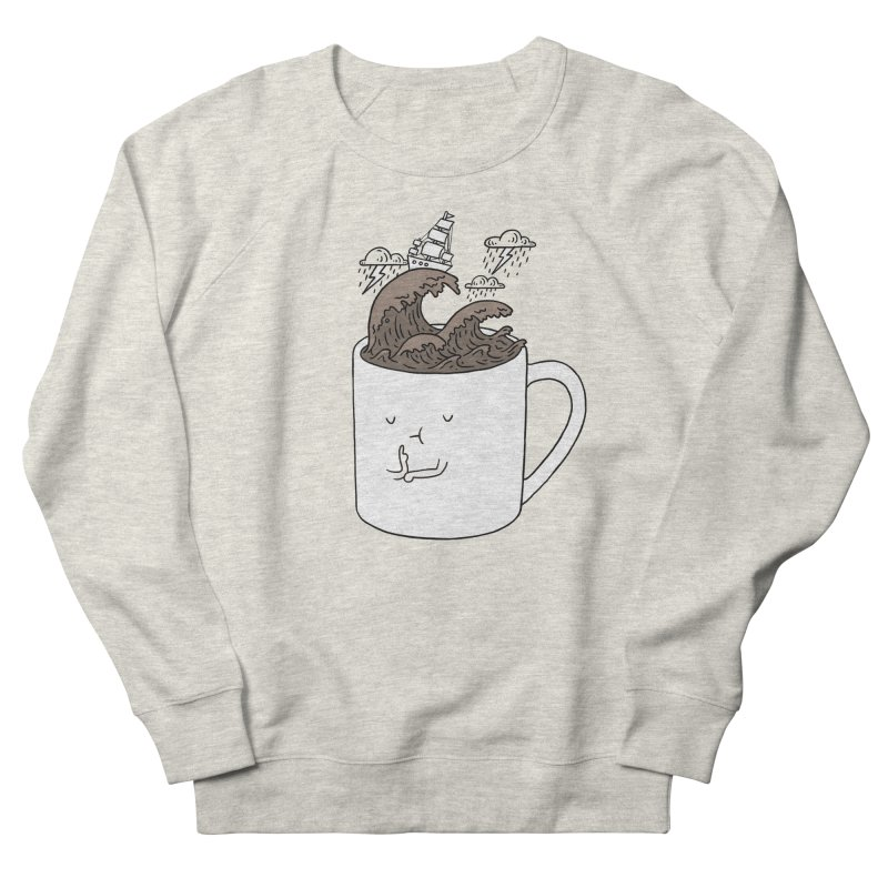 Brainstorming Coffee Mug Men's Sweatshirt by ilovedoodle's Artist Shop