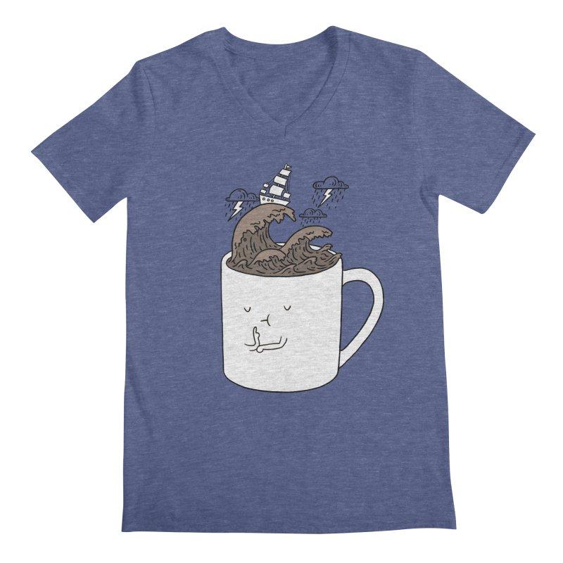 Brainstorming Coffee Mug Men's V-Neck by ilovedoodle's Artist Shop
