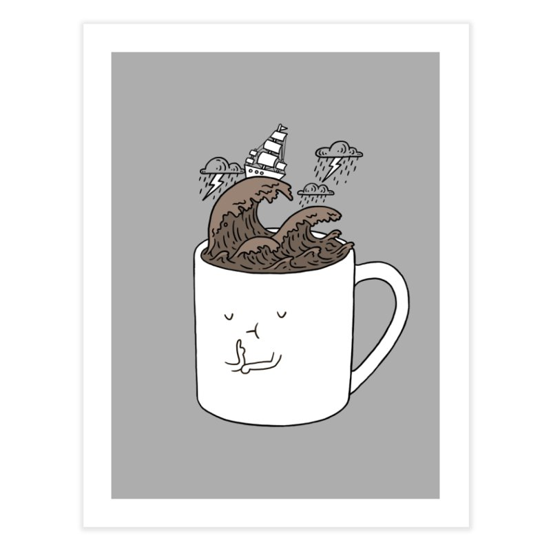 Brainstorming Coffee Mug Home Fine Art Print by ilovedoodle's Artist Shop