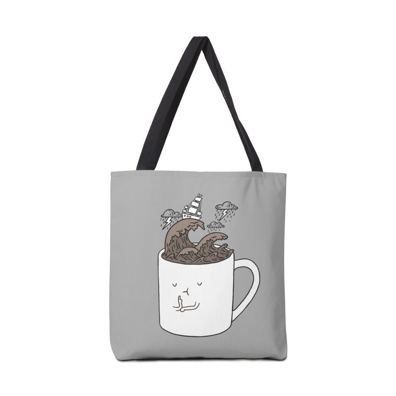 Brainstorming Coffee Mug Accessories Bag by ilovedoodle's Artist Shop