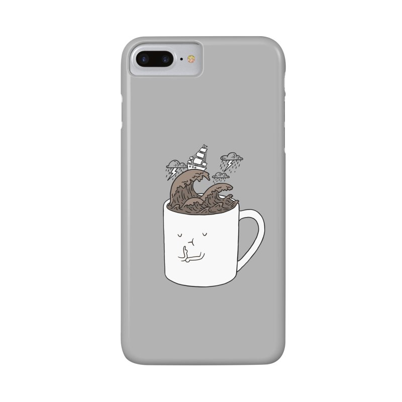 Brainstorming Coffee Mug Accessories Phone Case by ilovedoodle's Artist Shop